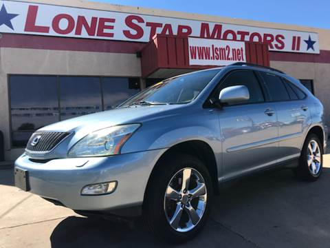 2007 Lexus RX 350 for sale in Fort Worth, TX