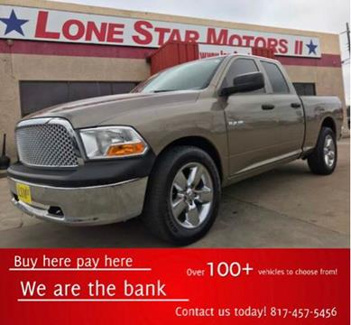 Dodge ram pickup 1500 for sale in fort worth tx for Lone star motors fort worth tx