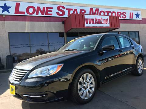 2014 chrysler 200 for sale in fort worth tx for Lone star motors fort worth tx