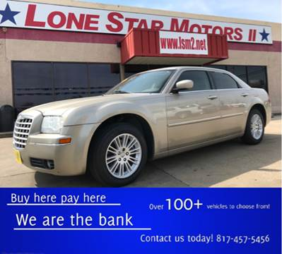 Used chrysler 300 for sale in fort worth tx for Lone star motors fort worth tx