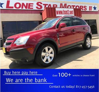 Chevrolet captiva sport for sale in fort worth tx for Lone star motors fort worth tx