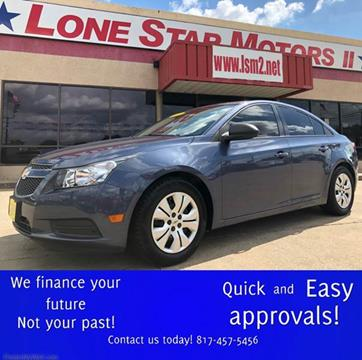 2014 chevrolet cruze for sale in fort worth tx for Lone star motors fort worth tx