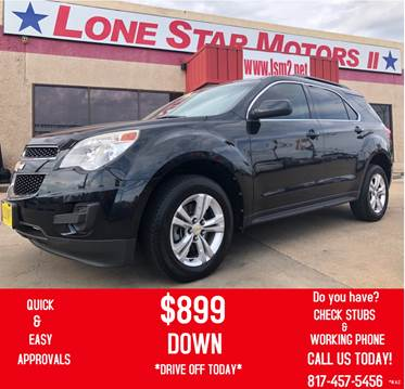 2011 Chevrolet Equinox For Sale At LONE STAR MOTORS II In Fort Worth TX