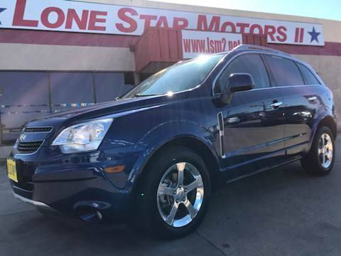 2013 Chevrolet Captiva Sport for sale at LONE STAR MOTORS II in Fort Worth TX