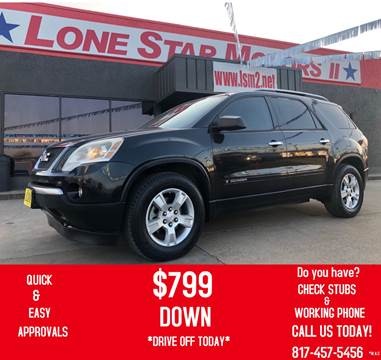 2008 GMC Acadia for sale in Fort Worth, TX