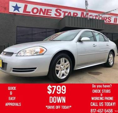 2014 Chevrolet Impala Limited for sale in Fort Worth, TX