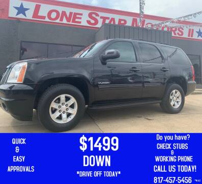 2012 GMC Yukon for sale at LONE STAR MOTORS II in Fort Worth TX