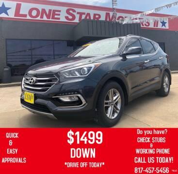 2017 Hyundai Santa Fe Sport for sale at LONE STAR MOTORS II in Fort Worth TX