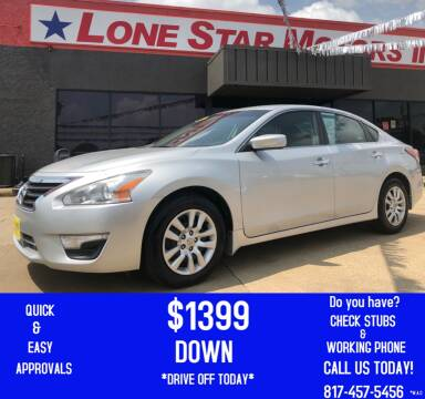 2015 Nissan Altima for sale at LONE STAR MOTORS II in Fort Worth TX