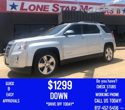 2014 GMC Terrain for sale at LONE STAR MOTORS II in Fort Worth TX