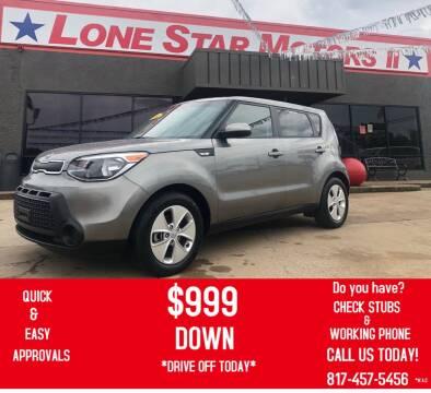2014 Kia Soul for sale at LONE STAR MOTORS II in Fort Worth TX