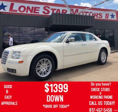 2010 Chrysler 300 for sale at LONE STAR MOTORS II in Fort Worth TX
