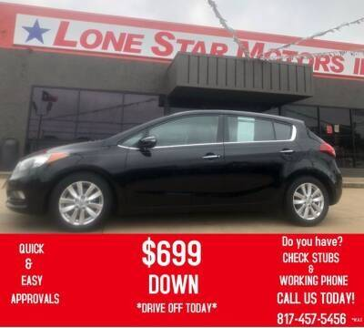2014 Kia Forte5 for sale at LONE STAR MOTORS II in Fort Worth TX