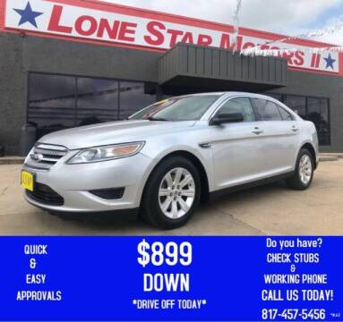 2011 Ford Taurus for sale at LONE STAR MOTORS II in Fort Worth TX