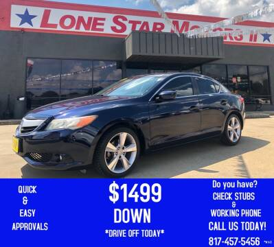 2014 Acura ILX for sale at LONE STAR MOTORS II in Fort Worth TX