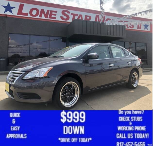 2014 Nissan Sentra for sale at LONE STAR MOTORS II in Fort Worth TX