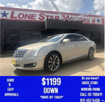 2013 Cadillac XTS for sale at LONE STAR MOTORS II in Fort Worth TX