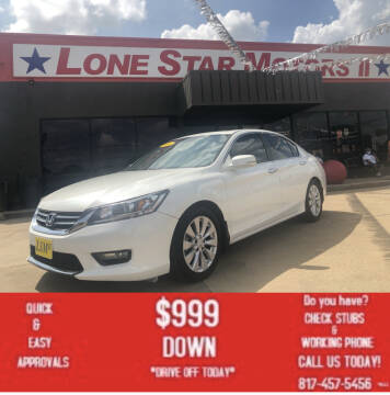 2014 Honda Accord for sale at LONE STAR MOTORS II in Fort Worth TX
