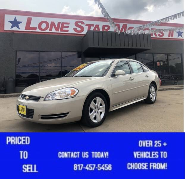 2010 Chevrolet Impala for sale at LONE STAR MOTORS II in Fort Worth TX