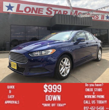 2016 Ford Fusion for sale at LONE STAR MOTORS II in Fort Worth TX