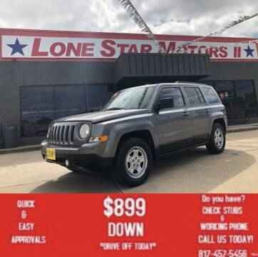 2013 Jeep Patriot for sale at LONE STAR MOTORS II in Fort Worth TX