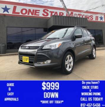 2015 Ford Escape for sale at LONE STAR MOTORS II in Fort Worth TX