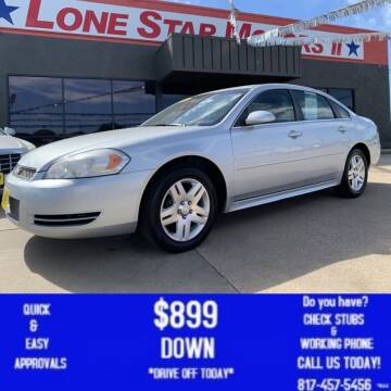 2013 Chevrolet Impala for sale at LONE STAR MOTORS II in Fort Worth TX