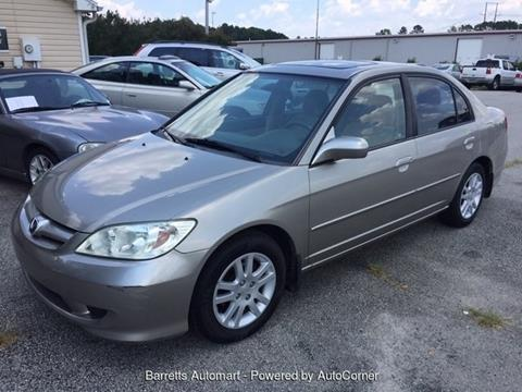2005 Honda Civic for sale in Angier, NC