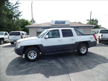 2002 Chevrolet Avalanche For Sale  Carsforsalecom