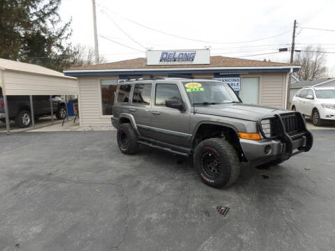 2007 Jeep Commander Sport for sale at DeLong Auto Group in Tipton IN