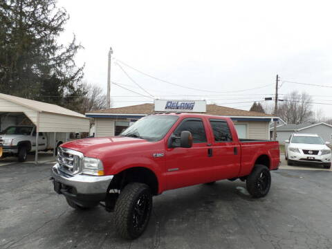 2004 Ford F-350 Super Duty for sale at DeLong Auto Group in Tipton IN
