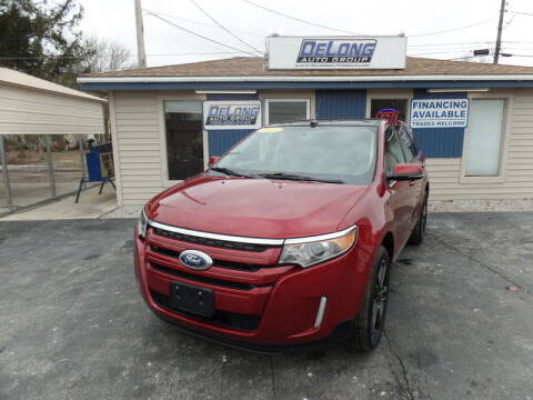 2013 Ford Edge SEL for sale at DeLong Auto Group in Tipton IN