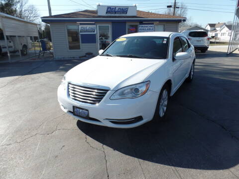 2012 Chrysler 200 for sale at DeLong Auto Group in Tipton IN