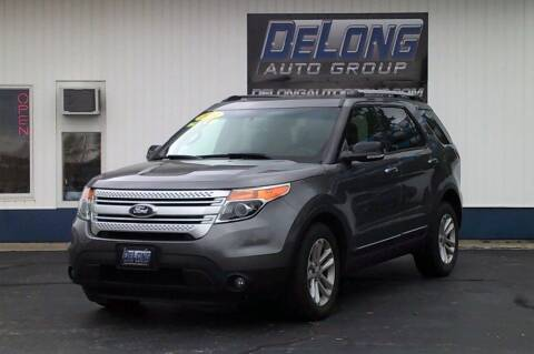 2014 Ford Explorer for sale at DeLong Auto Group in Tipton IN