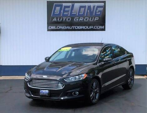 2013 Ford Fusion for sale at DeLong Auto Group in Tipton IN
