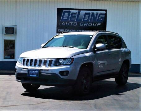 2014 Jeep Compass for sale at DeLong Auto Group in Tipton IN