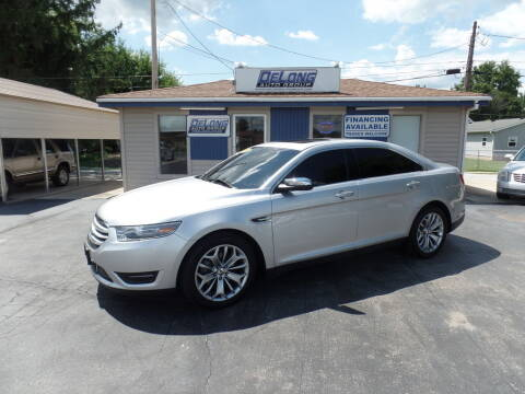 2014 Ford Taurus for sale at DeLong Auto Group in Tipton IN