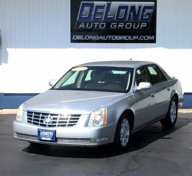 2009 Cadillac DTS for sale at DeLong Auto Group in Tipton IN