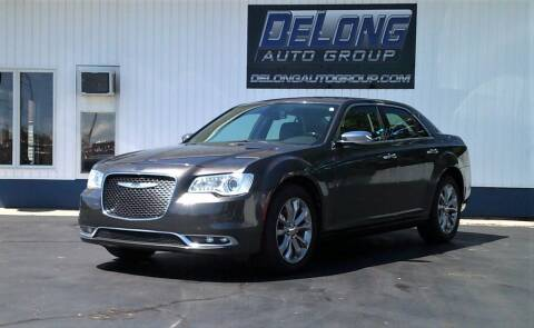 2019 Chrysler 300 for sale at DeLong Auto Group in Tipton IN