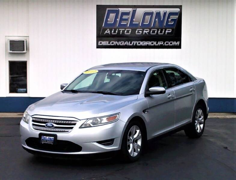 2011 Ford Taurus for sale at DeLong Auto Group in Tipton IN