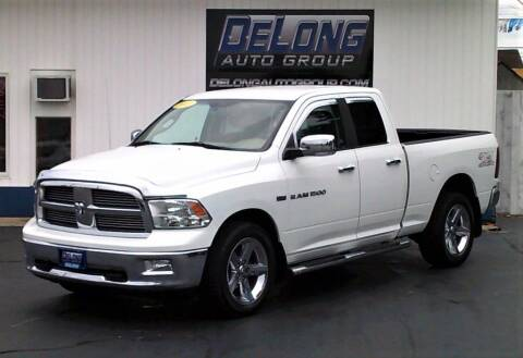 2012 RAM Ram Pickup 1500 for sale at DeLong Auto Group in Tipton IN