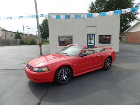 2003 Ford Mustang for sale at DeLong Auto Group in Tipton IN