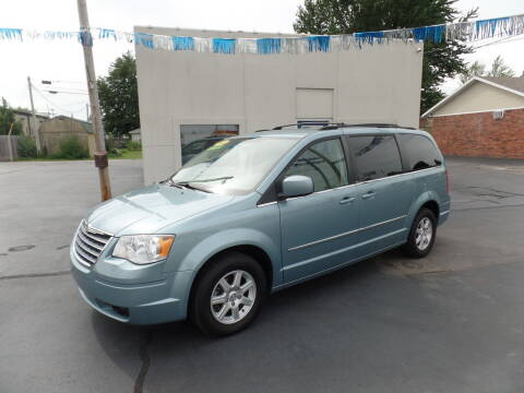 2010 Chrysler Town and Country for sale at DeLong Auto Group in Tipton IN