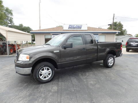 2005 Ford F-150 for sale at DeLong Auto Group in Tipton IN