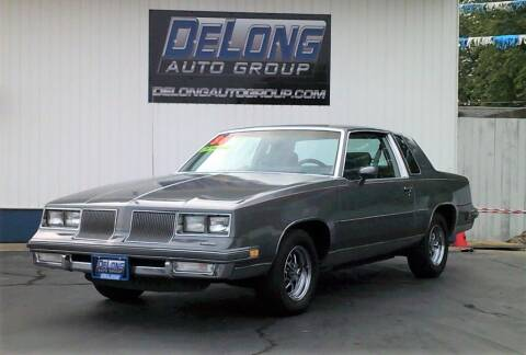 1986 Oldsmobile Cutlass Supreme for sale at DeLong Auto Group in Tipton IN