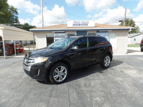 2013 Ford Edge for sale at DeLong Auto Group in Tipton IN