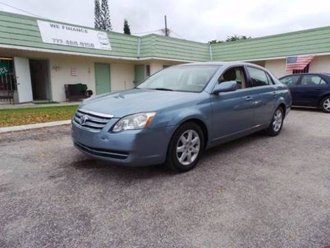 2007 Toyota Avalon for sale in Fort Pierce FL