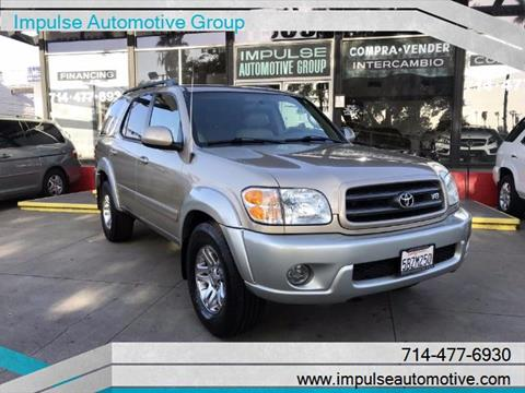 2003 Toyota Sequoia for sale in Anaheim, CA
