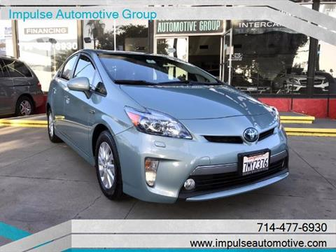 2012 Toyota Prius Plug-in Hybrid for sale in Anaheim, CA