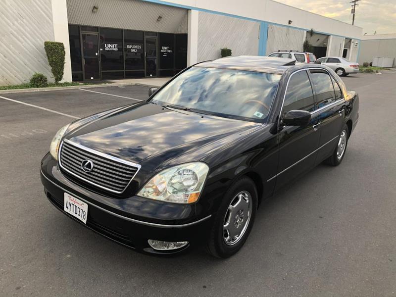 2002 Lexus LS 430 For Sale At Dvine Imports In Yorba Linda CA